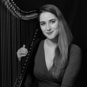 Maia Darme - Electric Harp Red Portrait (c)Kevin King